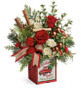 Merry Vintage Christmas Fresh Keepsake