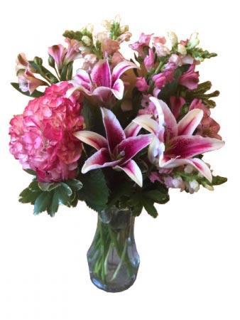 Message of Love Flower Arrangement