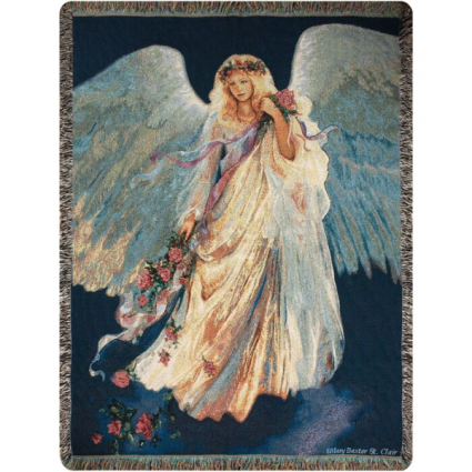 Messenger of Love Tapestry Woven Throw