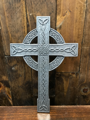 Metal Celtic Cross  in Yankton, SD | Pied Piper Flowers & Gifts