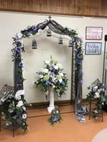 Metal Flower Arch