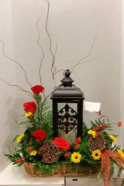 Metal lantern Arrangement