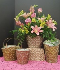 Metal Posies Mother's Day Special ** LOCAL ONLY **
