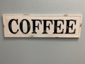 Metal Sign Coffee