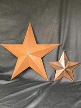 Metal Stars Star Decor