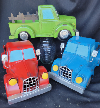 Metal truck Planter