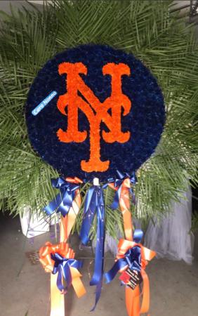 Mets Logo  in Ozone Park, NY   Heavenly Florist
