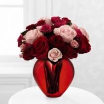 My heart to yours / Mi Corazon es Tuyo Rose Bouquet / Ramo de Rosas