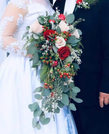 Mia Bridal Bouquet Bridal Bouquet In Powell Tn Powell Florist