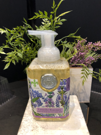 Michel Design foaming soap - Lavender Rosemary