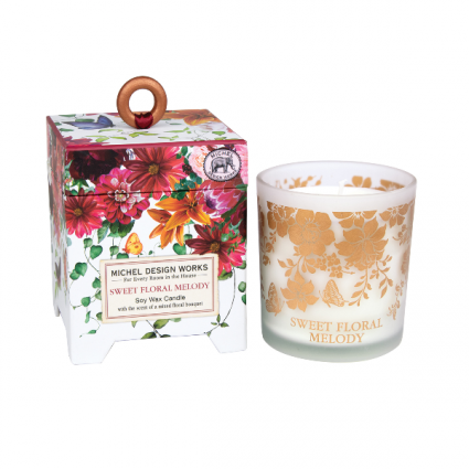 Michel Design Works Soy Candle Sweet Floral Melody