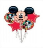 Mickey Mouse Balloon Bouquet ***SPECIAL PRICE***