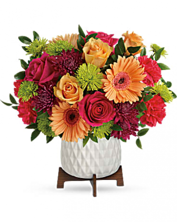 Mid-Mod Brights Bouquet