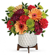 Mid Mod Brights Bouquet Fresh Arrangement