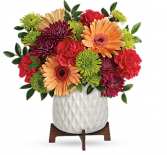 Mid Modi Brights  Vase