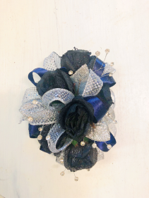 Midnight Magic Corsage