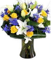 MIDNIGHT SUN FLOWERS  BOUQUET