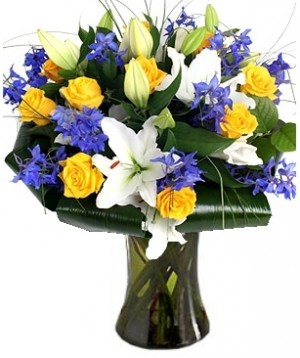 MIDNIGHT SUN FLOWERS  BOUQUET in Germantown, MD | GENE'S FLORIST & GIFT BASKETS