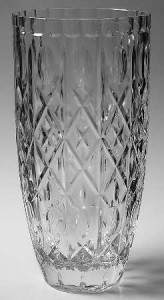 Mikasa Crystal Vase 12 Tall Made in France