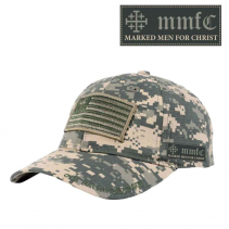 Military Flag Camo Ball Cap