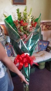 Military Retirement/Promotion Presentation   Bouquet