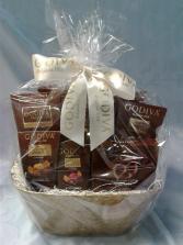 Milk Chocolate Godiva Basket