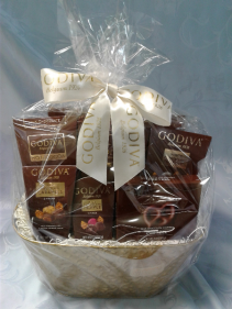 Milk Chocolate Godiva Basket