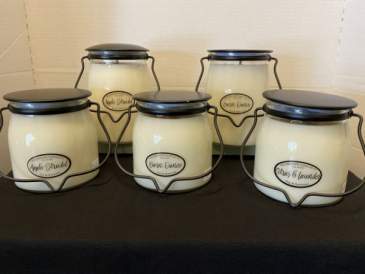 "Milkhouse ""Creamery Collection"" Candles GIFT"