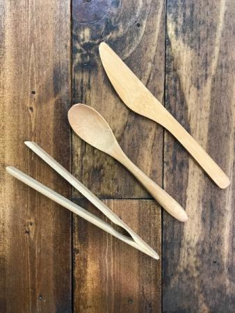 Mini Bamboo Utensils
