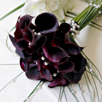 MINI CALLA BRIDE BOUQUET WEDDING