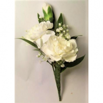 Mini Carnation Boutonniere Available in other colors please call.
