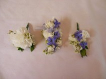 MINI CARNATION CORSAGE & BOUTONNIERE PROM CORSAGE