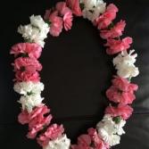 Mini Carnation Graduation Lei