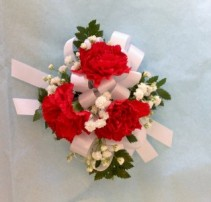 Mini Carnation Wrist Corsage