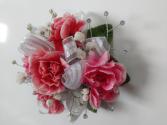 mini carnation wrist corsage wrist corsage