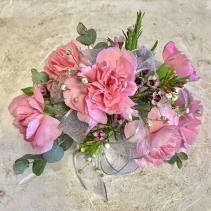 Mini Carnation Wristlet