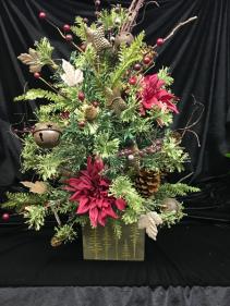 Mini Christmas Tree Silk