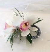 Mini Cymbidium Wrist Corsage Weddings and Prom
