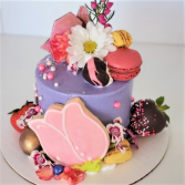 Mini Deco Cake  Sweet Blossoms