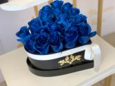 Mini heart blue  Heart box