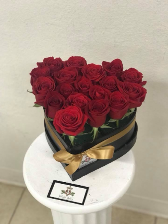 Mini Heart of roses Heart shaped
