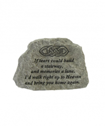 MINI IF TEARS COULD MEMORIAL STONE
