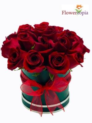 Mini-Luxury-Red-Rose Special Today! in Miami, FL | FLOWERTOPIA