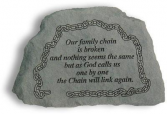 MINI OUR FAMILY CHAIN MEMORIAL STONE