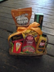 Mini Party Food Basket