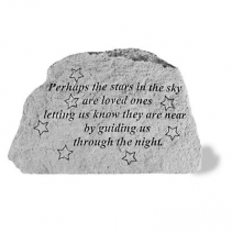 MINI PERHAPS THE STARS MEMORIAL STONE