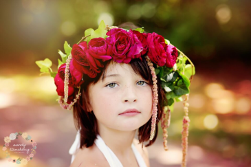 Mini Rose Floral Crowns  Flower Crown