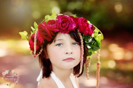 Mini Rose Floral Crowns  Flower Crown