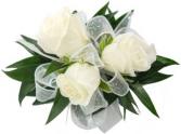 Lush Mini Rose Corsage