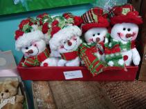 Mini Snowmen Snowman Plush